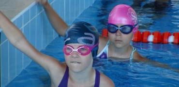 Соревнования по плаванию - дети