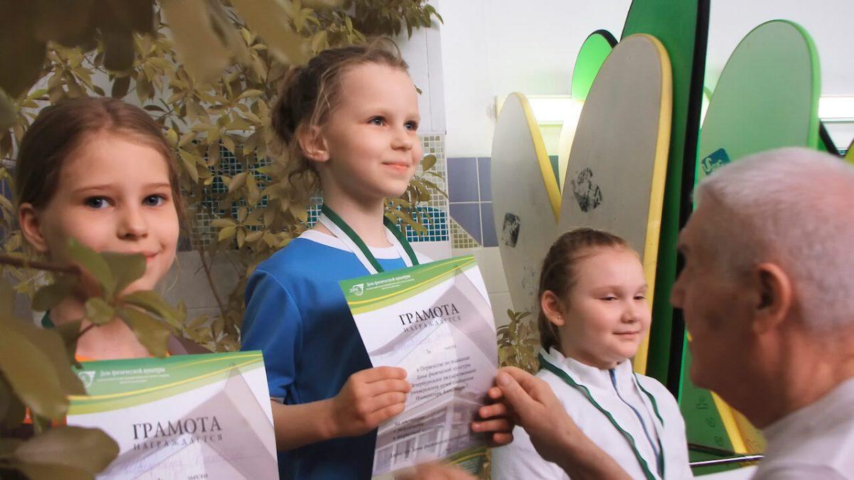 Соревнования в петроградском районе по плаванию